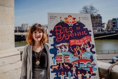 Concours affiche Fêtes de Bayonne