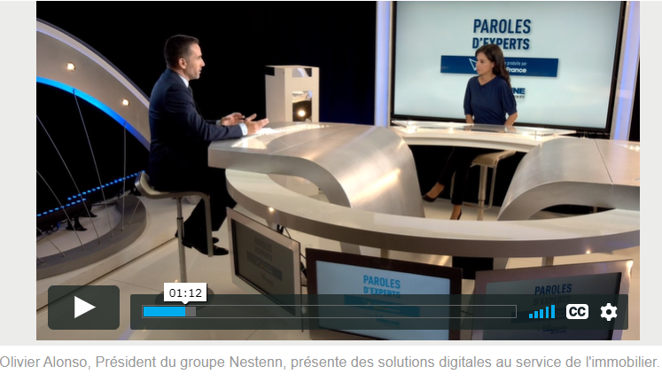 Paroles d'Experts Nestenn : Des solutions digitales pour le secteur immobilier