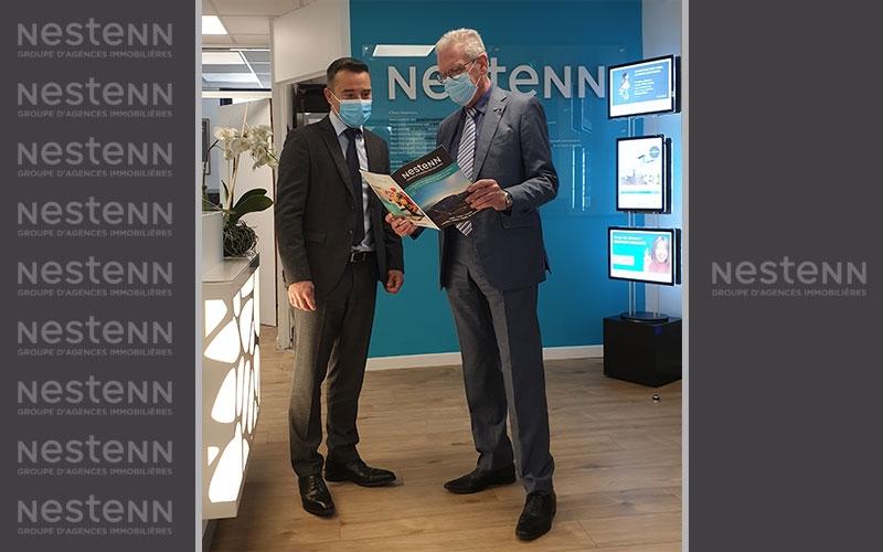 Le maire de La Garde, Jean-Louis Masson, s'intéresse à Nestenn !