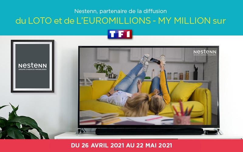 Nestenn sur TF1 du 26 avril au 22 mai 2021