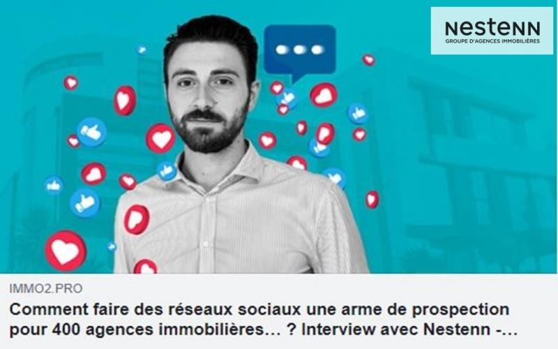 Nestenn dans Immo2.pro : les réseaux sociaux, outil de prospection ?