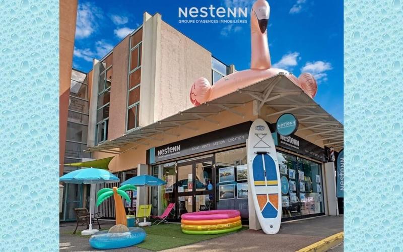 L'agence Nestenn Mandelieu (06) : ambiance estivale !
