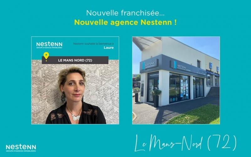 Nouvelle franchisée - Nouvelle agence !  Nestenn Le Mans Nord (72)