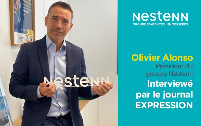 Le magazine immobilier « Expression » met en lumière Nestenn !