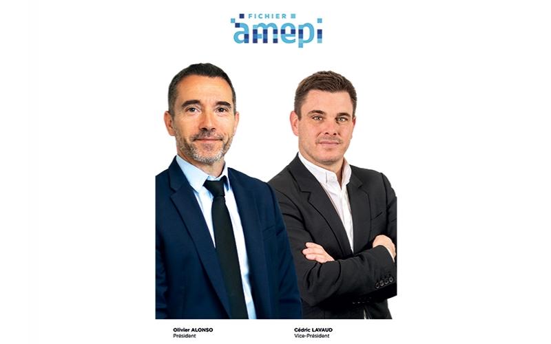 Olivier ALONSO élu à la présidence du Fichier National AMEPI et Cédric LAVAUD, élu Vice-Président
