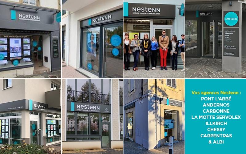 8 agences Nestenn ouvertes en pleine crise sanitaire !