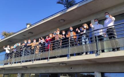 Il y a du monde au balcon pour la 56ème promotion !