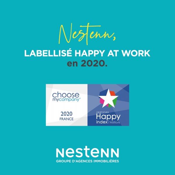 Nestenn, labellisé HappyIndex®Atwork en 2020