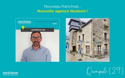 Nouvelle agence Nestenn en Bretagne, à Quimperlé (29)