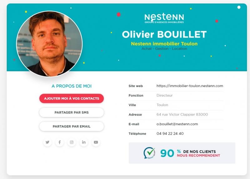 Nest'Card: la carte de visite virtuelle