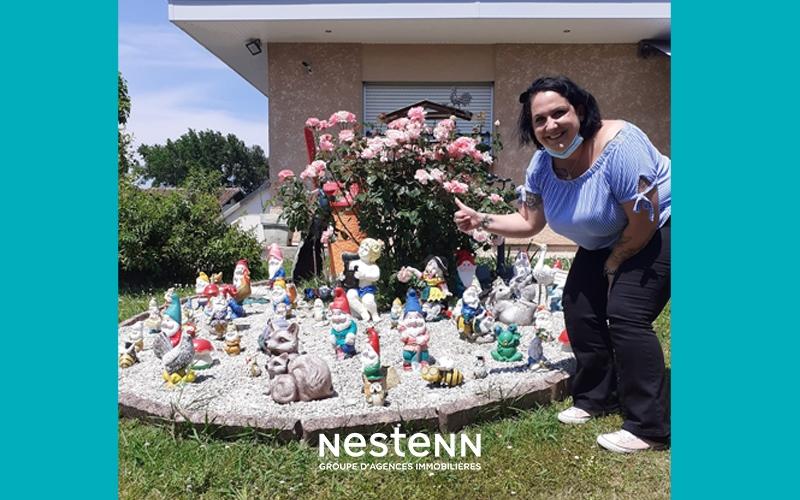 Les agences Nestenn signalent le retour des nains de jardin !