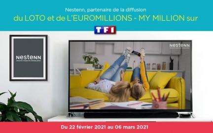 Nestenn sur TF1 du 22 février au 06 mars 2021