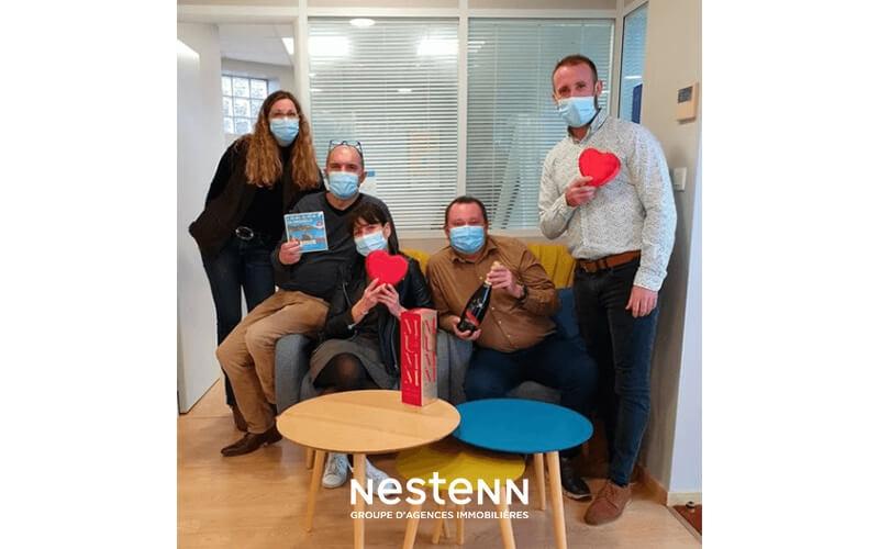 Nestenn Betton (35) : Jeu Concours pour la Saint-Valentin