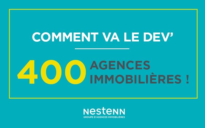 Défi relevé, Nestenn c'est 400 agences immobilières !