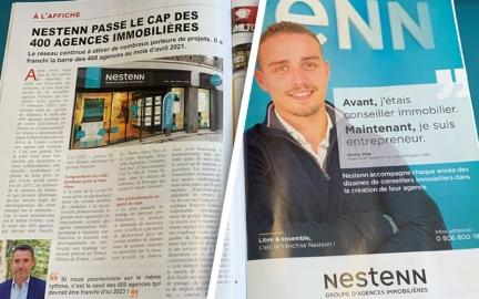 Le JDA (Journal de l'Agence) : Nestenn à l'honneur !