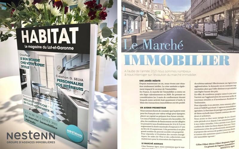 Nestenn Agen dans le magazine HABITAT !