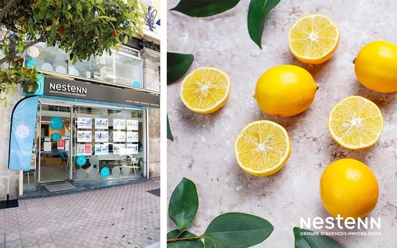 Nestenn Menton (06) : un zeste de citron !